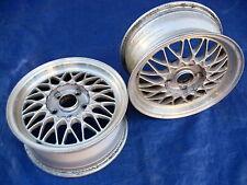 Mazda RX7 RX-7 FC OEM BBS RZ 15x6.5 et40 Light Weight Factory Alloy Wheels (2)