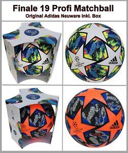 Adidas Finale 19 Profi Matchball Spielball 2019/2020 Champions League WOW DY2560
