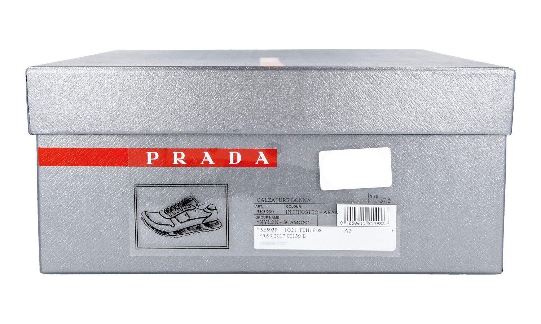 LUXUS PRADA MATCHRACE Turnschuhe SCHUHE 3E5939 BLAU BLAU BLAU WILDLEDER NEU NEW 39 39,5 UK 6  ea1039