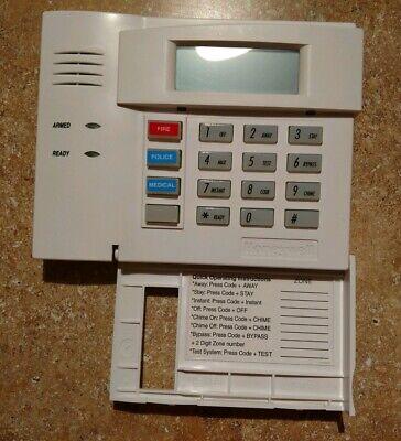 Honeywell Ademco 6150RF Keypad Tested