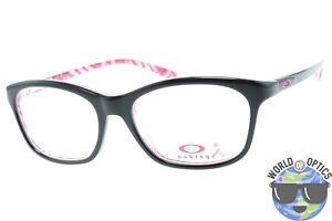 26150e1a25 Oakley RX Eyeglasses OX1091-0752 Taunt Breast Cancer Black Frame  52 ...