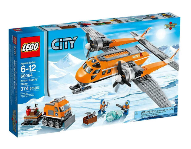 *NEW* LEGO City Helicopter and Pilot Operator Minifigure ONLY from Set 60036