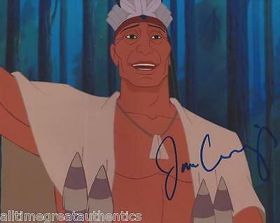 Photographs Liberal Jim Cummings Signed Authentic 'pocahontas' 8x10 Photo Coa Lion King Voice Actor Entertainment Memorabilia