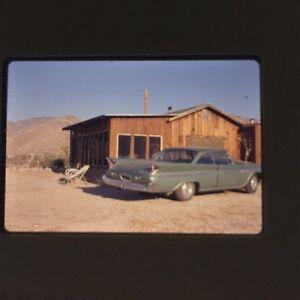 Vintage-Color-Slide-Of-Classic-Car-60-039-s