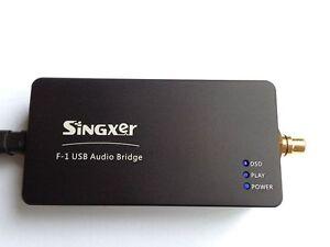 Singxer-F-1-XMOS-XU208-USB-Digital-Interface-384K-Coaxial-I2S-DSD256-With-case