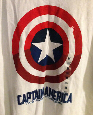 Marvel Captain America Shield The First Avenger Logo Langarmshirt