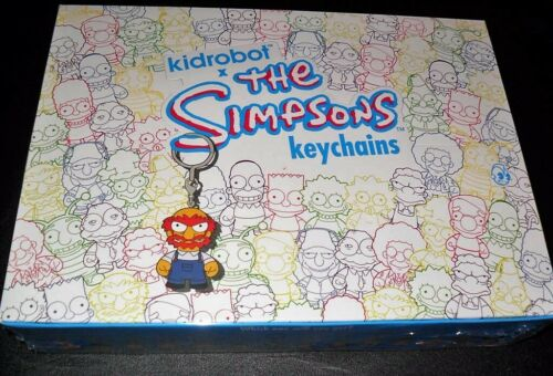 KIDROBOT THE SIMPSONS MINI KEYCHAIN BOX OF 20 BLIND BOXES NEW SEALED