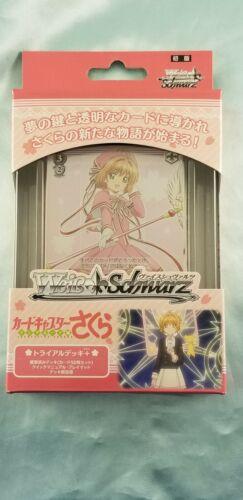 WeiB Weiss Schwarz Cardcaptor Sakura Trial Deck *New//Sealed* Japanese