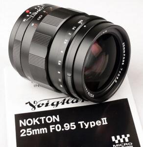 Voigtlander-USA-25mm-f-0-95-25-95-Nokton-M43-Micro-4-3-MFT-FREE-NEXT-DAY