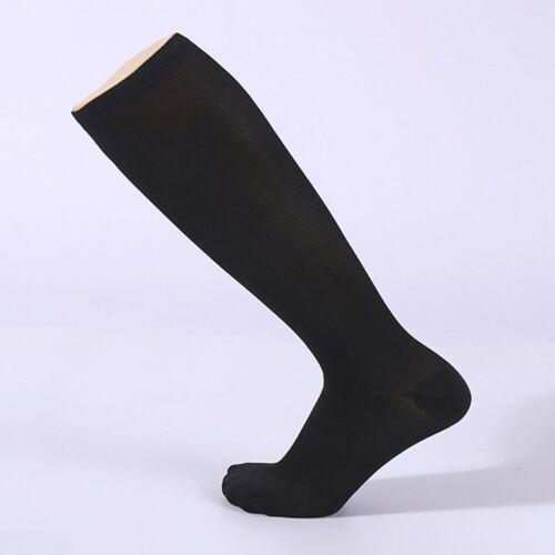 Girls Ladies White Knee High Socks Thigh Women 3 Color Long Cotton Stockings