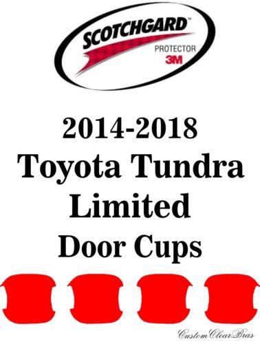 3M Scotchgard Paint Protection Film 2015 2016 2017 2018 Toyota Tundra Limited