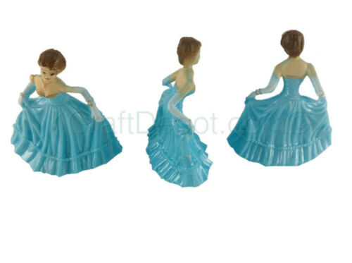 "12 Pcs 2/"" Sweet 15 Bridemaid Plastic Dolls Party Favors Deco. 16 Quinceanera"