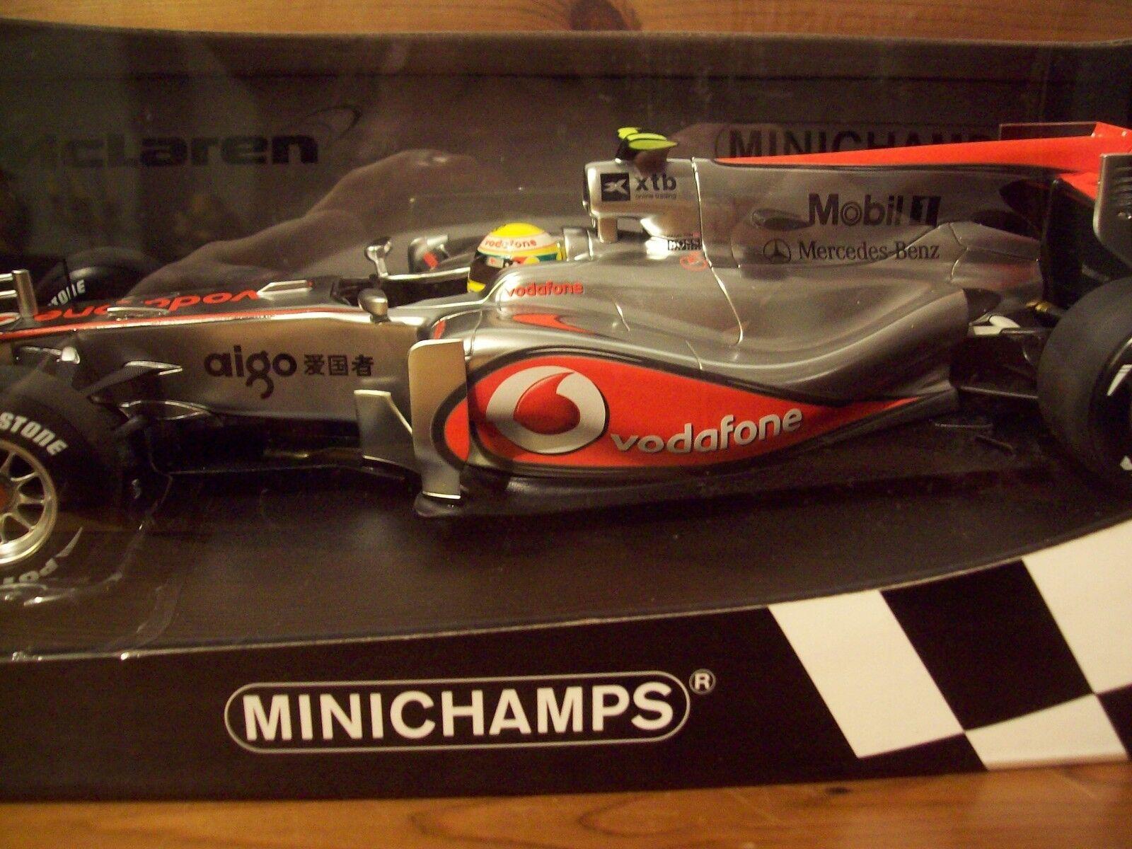 1 18 McLaren Vodaphone Mercedes MP4 25 2010 Lewis Hamilton