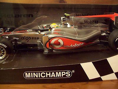 1/18 Vodaphone Mclaren Mercedes Mp4/25 2010 Lewis Hamilton-mostra Il Titolo Originale