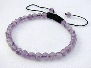 51ec9e45cb638 Details about Natural Gemstone Men's beaded bracelet Amethyst February  Birthstone 6mm beads