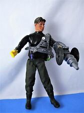 "MAX STEEL 12"" ARTICULATING ACTION FIGURE MATTEL 2000 Arctic Commando & Extras"