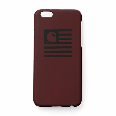 KüHn Carhartt Wip State Iphone Hardcase, Cranberry/black - Iphone 6+ Case Exzellente QualitäT