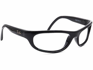 Ray-Ban-Sunglasses-FRAME-ONLY-RB-4033-601-Black-Wrap-Italy-60-15-130