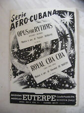 Partition série Afro Cubana Opus for Rythms Romano Royal Cha Cha de Martini