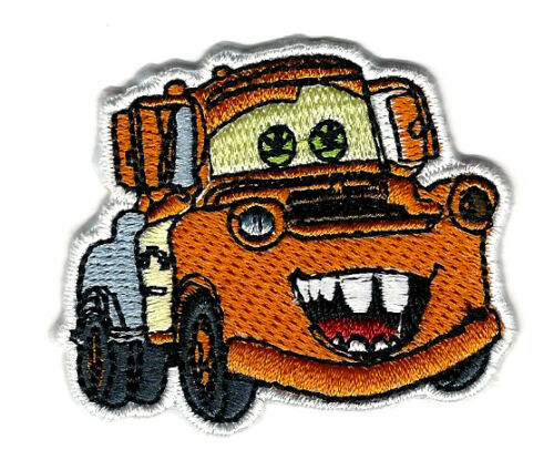 """2.25 x 2/"""" Mater Tow Truck cars Disney Film brodé Iron On Sew On Patch"""