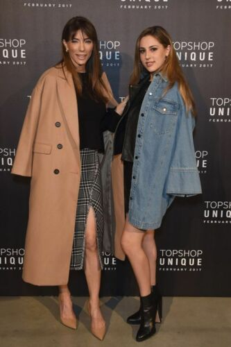 Topshop Navy Double Breasted Trench Long Slim Midi Slouch Jacket Coat 4 to 18