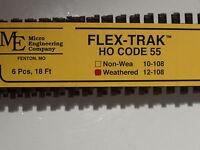 Ho Micro-engineering 12-108 Ho-scale Code 55 Flex Track Wea. Bigdiscounttrains