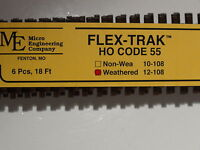 Ho Micro-engineering 12-108 Ho-scale Code 55 Flex Track Wea. Bigdiscounttrains