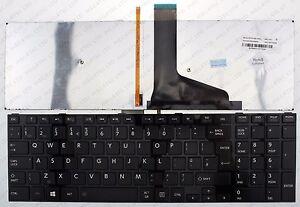 Toshiba Satellite C70-A C70-B C70D-A C70D-B English keyboard US layout