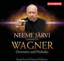 Neeme Järvi, R. Wagner - Overtures & Preludes [New CD]