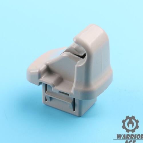 x1 New Gray Sun Visor Hook Clip 92018FG001ME Fit Subaru 08-16 Impreza Crosstrek