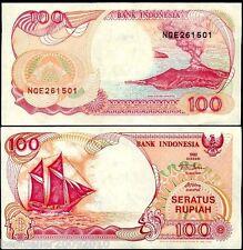 INDONESIA 100 RUPIAH UNC OLD ISSUE # 56
