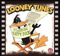Daffy Duck Fridge Magnet Logo 7. 4 X 4. Looney Tunes.....free Shipping