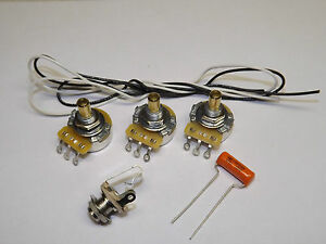 jazz bass guitar wiring kit cts 250k solid shaft pots jazz bass wiring kit with series parallel push pull switch american vintage 62 jazz bass complete wiring kit