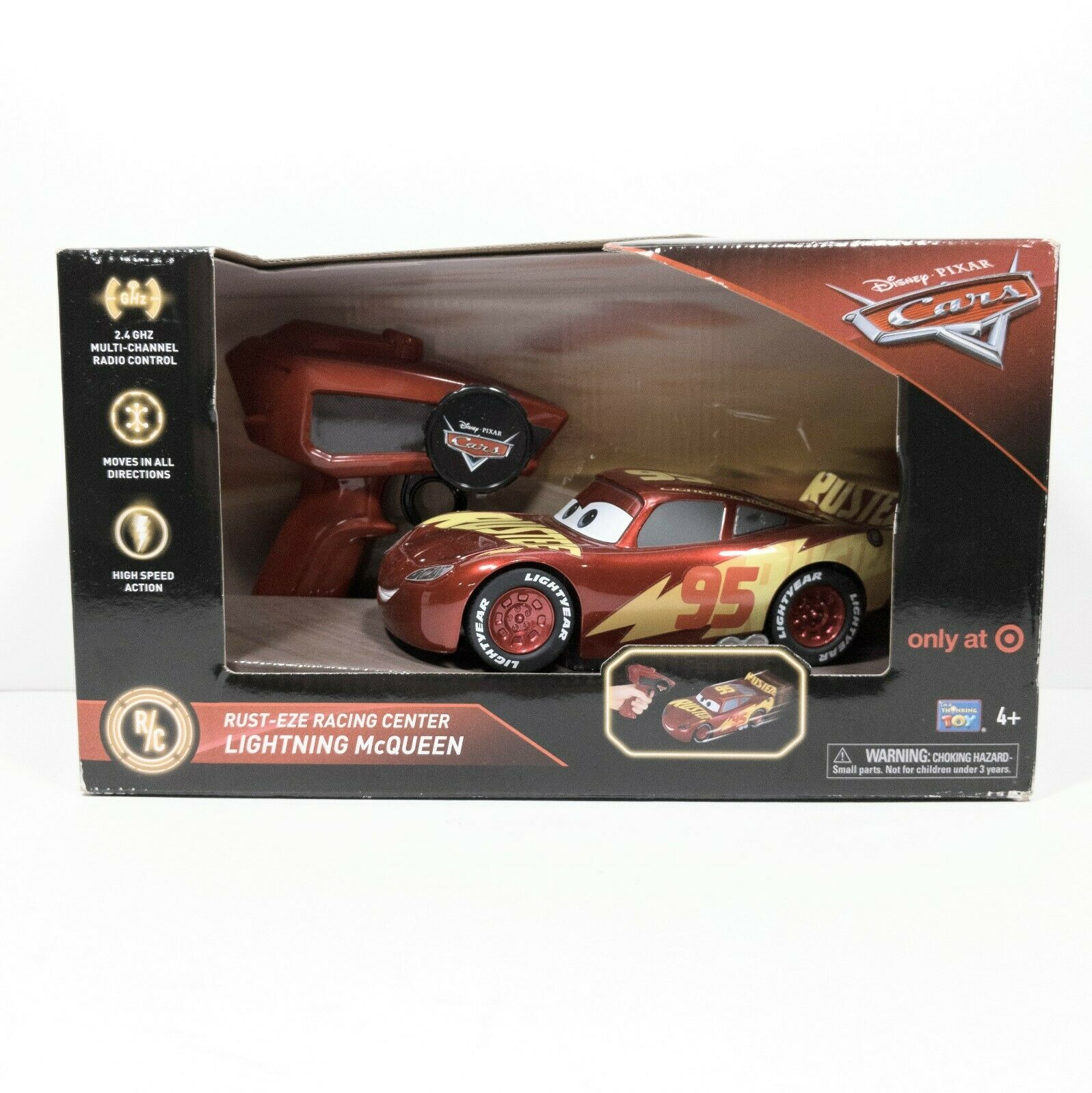 New Disney Pixar Cars 3 Rust Eze Racing Center Lightning Mcqueen