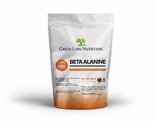 BETA-ALANINE-POWDER-454g-RECOVER-HPLC-PHARMACEUTICAL-FREE-WORLD-SHIPPING