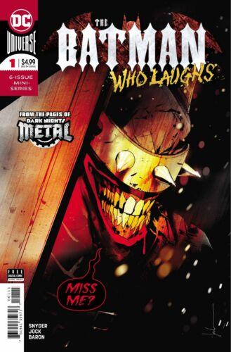The Batman Who Laughs #1 DC Comics 2019 VF//NM