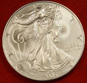 2009 American Silver Eagle Dollar 1 Oz 999 Bu Great