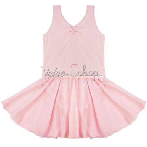 Girl Kids Ballet Tutu Princess Dress Dance Wear Costume Gymnastics Leotard Skirt