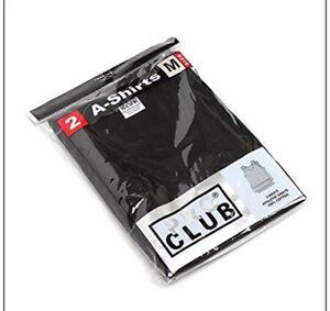 66cc9ffc47d7f Lot 2 PRO CLUB A SHIRTS TANK TOP BLACK ProClub Mens Wife Beater ...