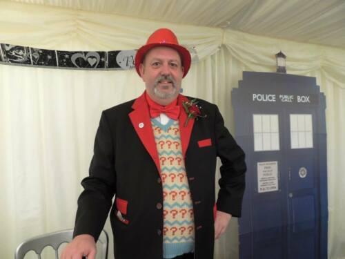 Doctor Who Pullunder des Siebten Doktors - Offizieller BBC 7 Sylvester McCoy Doktor Pullunder