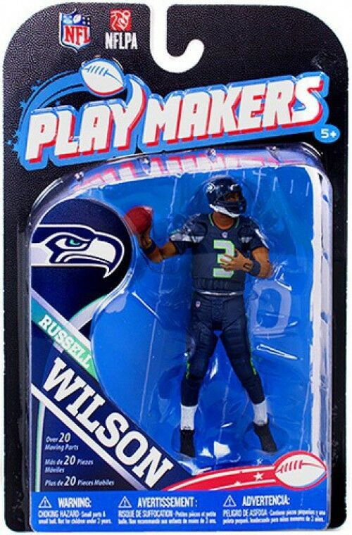 NFL Seattle Seahawks Playmakers Playmakers Seahawks Series 4 Russell Wilson Action Figure 07a5be