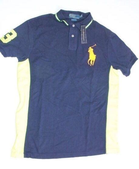 Polo ralph Lauren Men Neon   Shirt Big Pony XLARGE XL   Custom FIT