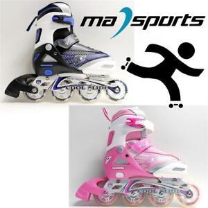 New-Kingdom-Coolslide-Childrens-Kids-Junior-Inline-Roller-Skates-rrp-45-Sale