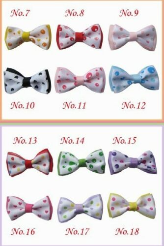 """50 BLESSING Good Girl Boutique 2/"""" Butterfly Bowknot Hair Bow Clip Accessories"""