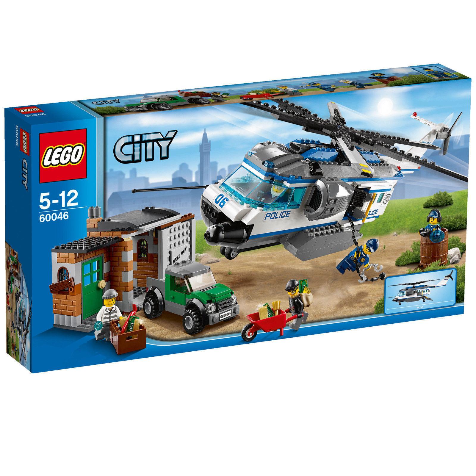 LEGO City Verfolgung mit dem Polizei-Hubschrauber (60046) Neu , OVP & versiegelt
