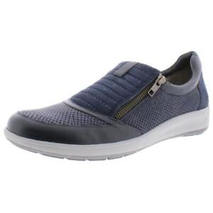walking cradles womens orion navy casual shoes 12 narrow