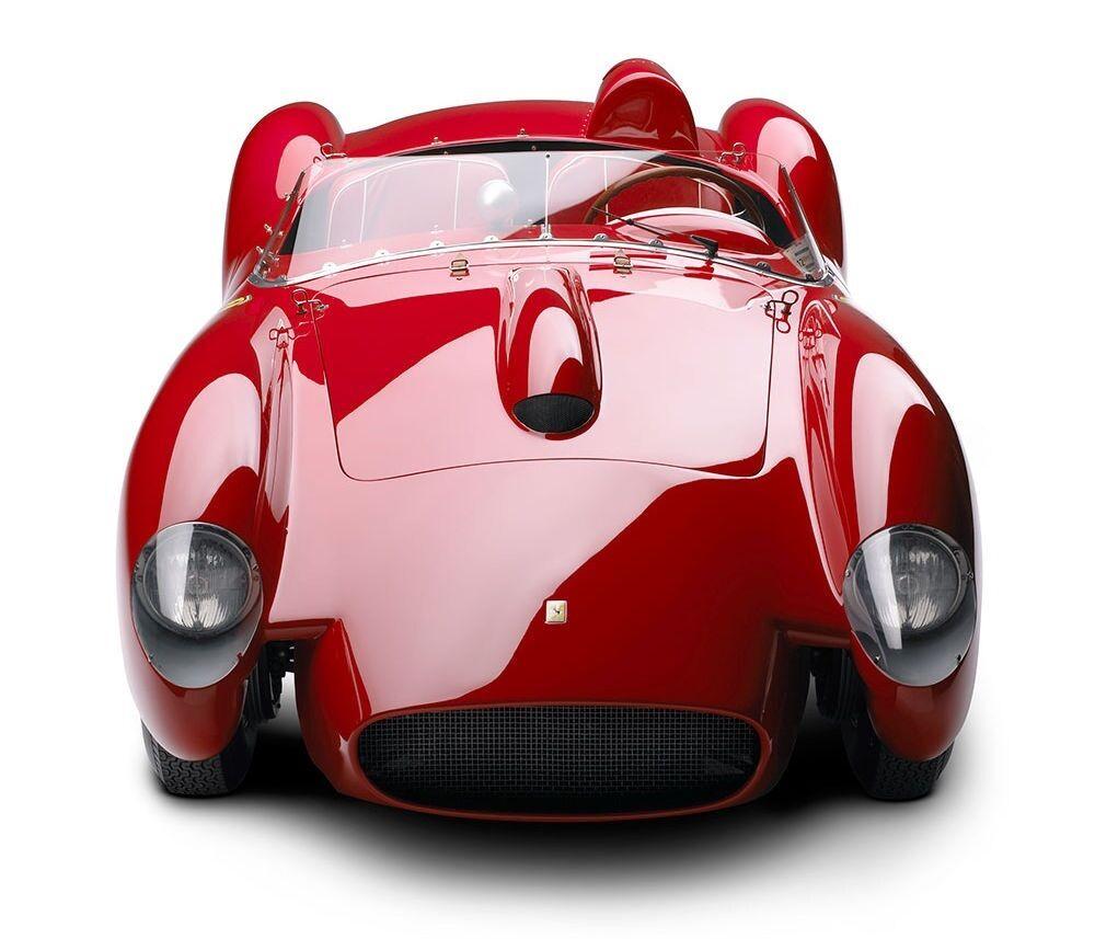 1950 -talet Ferrari Race bil Sport årgång 43 1 Exotisk 24 Concept 12 Karusell röd 18 F