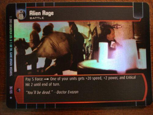 Star Wars TCG BOY Alien Rage FOIL 36//105