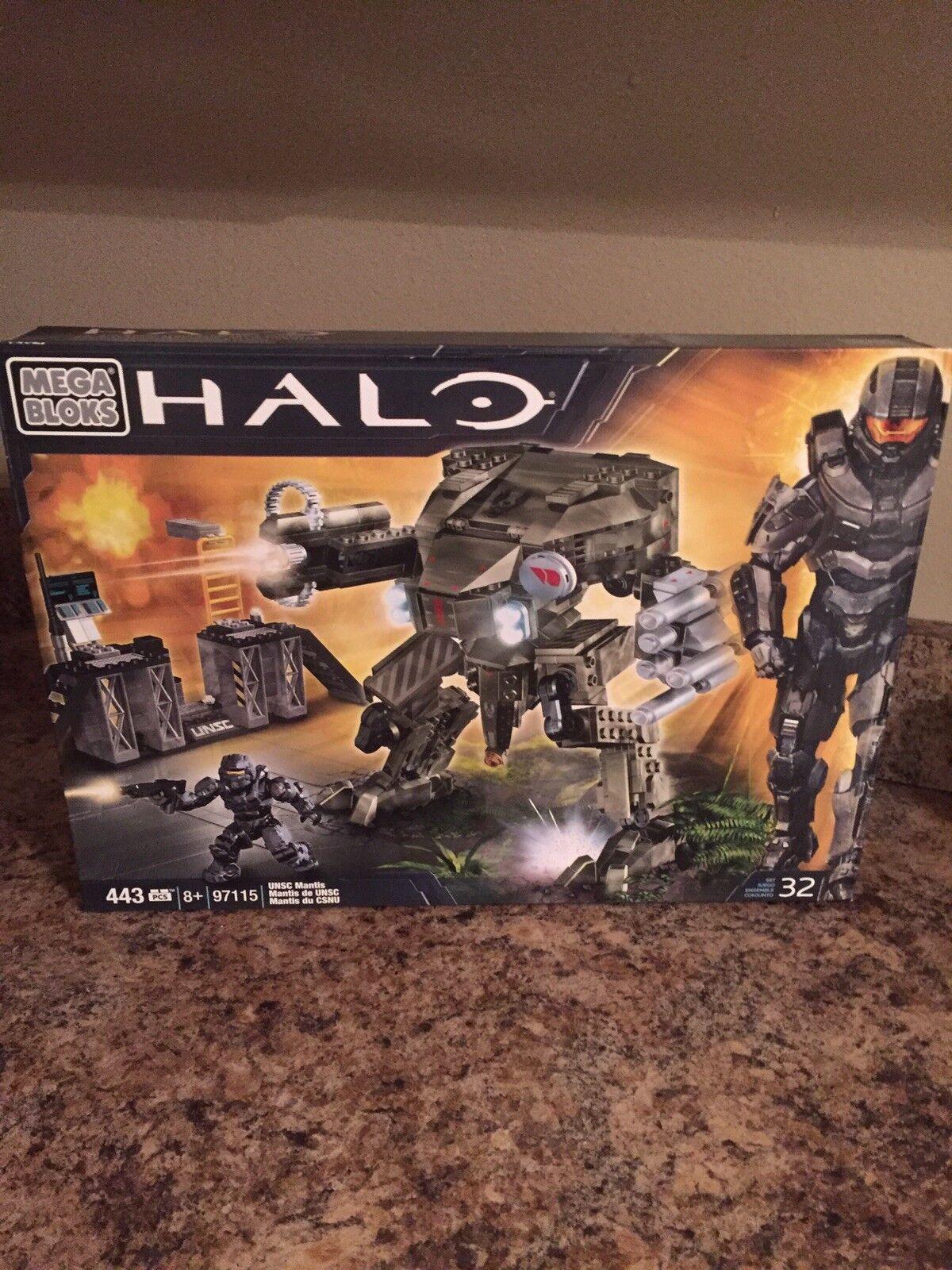 Nuevo Mega Bloks Halo 97115 Unsc Mantis sellado de fábrica
