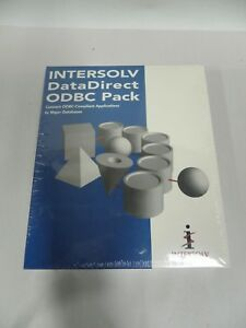 INTERSOLV DATADIRECT ODBC DRIVERS FOR WINDOWS